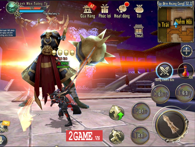 360mobi Kiếm Khách VNG ra mắt bản iOS sau gần 3 tháng có mặt trên thị trường game Việt 3
