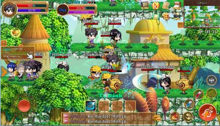 Cảm nhận game mobile Làng Lá Phiêu Lưu Ký – Chậm rãi và lôi cuốn