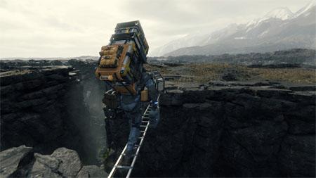 Death Stranding: Thì ra công việc chính của người chơi trong game này là…vận chuyển
