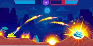 Tank Stars – Game bắn tank có cơ chế ngắm bắn tọa độ khá giống Gunny