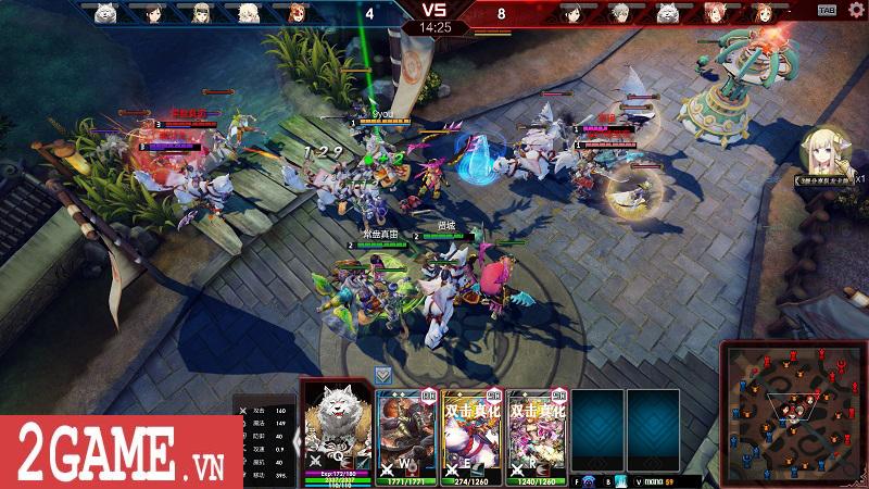 Lord of Verminion Arena – Game MOBA kết hợp bài ma thuật vô cùng ấn tượng do Nhật bản và Trung quốc phát triển 2
