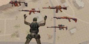 Cận cảnh bộ vũ khí được dành riêng cho chế độ Sinh Tồn của Đột Kích