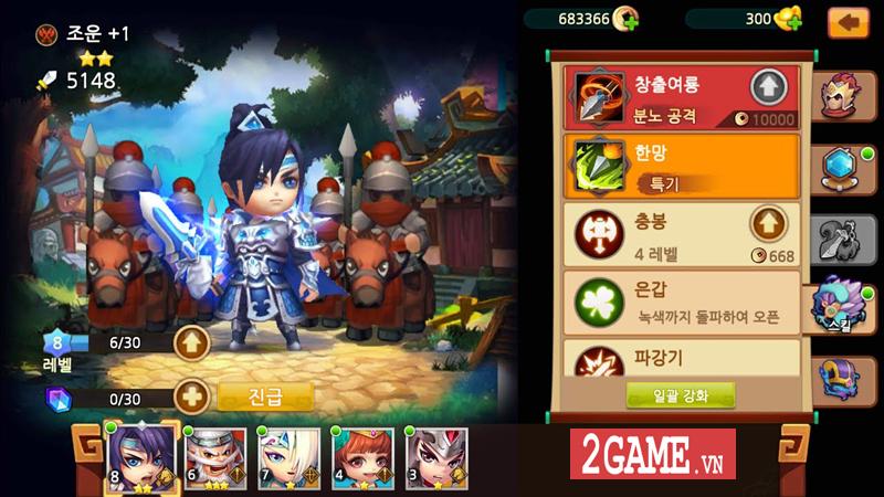 Thiên Hạ Anh Hùng - Game mobile đấu thẻ tướng Tam Quốc cập bến Việt Nam 2