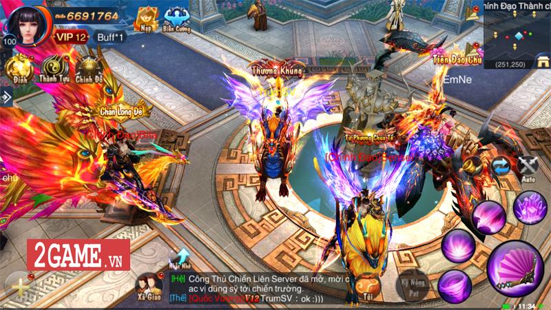 Ngự Long Truyền Kỳ ấn định ngày ra game, hứa hẹn mở ra thế giới tràn ngập tính Pk đại chiến 3