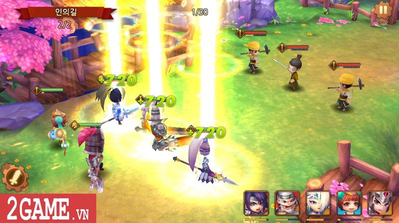 Chơi thử Thiên Hạ Anh Hùng: Game chiến thuật đánh theo lượt đề tài Tam Quốc kinh điển 3
