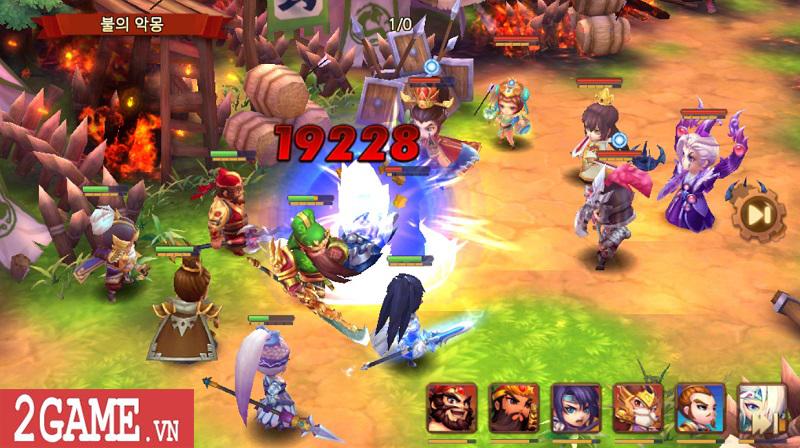 Chơi thử Thiên Hạ Anh Hùng: Game chiến thuật đánh theo lượt đề tài Tam Quốc kinh điển 0