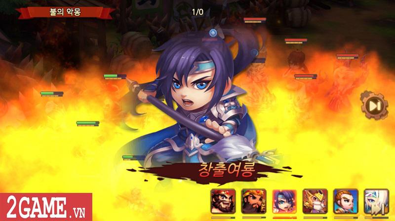 Chơi thử Thiên Hạ Anh Hùng: Game chiến thuật đánh theo lượt đề tài Tam Quốc kinh điển 1