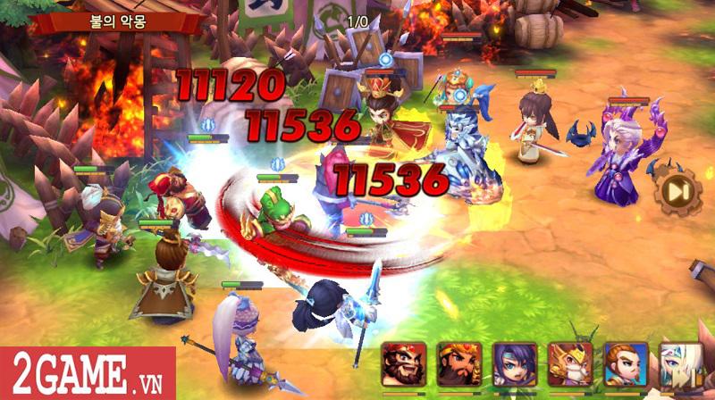 Chơi thử Thiên Hạ Anh Hùng: Game chiến thuật đánh theo lượt đề tài Tam Quốc kinh điển 2