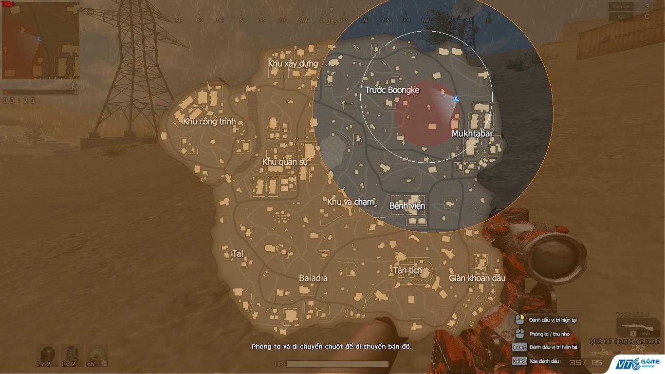 Cộng đồng người chơi Đột Kích hào hứng khám phá chế độ Sinh tồn 0