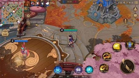Cận cảnh phiên bản tiếng Việt của game  Âm Dương Sư MOBA – Onmyoji Arena vừa ra mắt