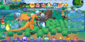 Liên Quân Poke hack não người chơi bằng cơ chế tiến hóa Pokemon cực chuyên sâu