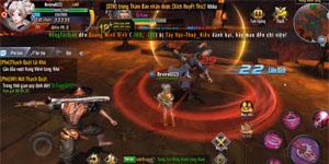 Hãy cẩn thận vì boss trong game Cửu Dương VNG cũng có võ công riêng đấy!