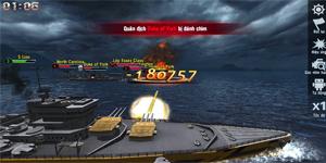 Đại Chiến Hạm 3D – Game chiến thuật 3D bối cảnh Thế Chiến xuyên đại dương cực lôi cuốn