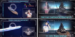 Đại Chiến Hạm hot tới mức có hàng chục nữ thuyền trưởng sẵn sàng quay clip giới thiệu về game?