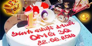 Cộng đồng OMG 3Q bận bịu tham gia chuỗi kiện mừng sinh nhật game 1 tuổi