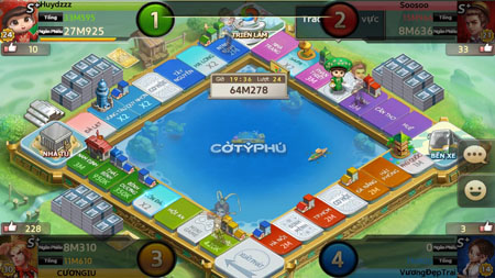 360mobi Cờ Tỷ Phú – Game lắc xí ngầu đưa bạn trở về thời tuổi thơ vui nhộn đây rồi!