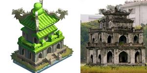 Hàng loạt danh lam thắng cảnh của Việt Nam được dựng lên trong 360mobi Cờ Tỷ Phú