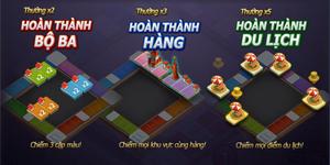 Muốn leo hạng cao trong 360mobi Cờ Tỷ Phú người chơi cần phải quan tâm đến những yếu tố sau