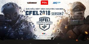 Giải đấu Đột Kích chuyên nghiệp CFEL khởi tranh mùa giải thứ 6