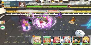 Trải nghiệm Manga Siêu Quậy Mobile: Lôi cuốn bởi đồ họa tươi sáng, đậm chất manga/anime