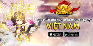 Game Mộng Kiếm Hiệp Mobile được NPH mới Mobiz đưa trở lại Việt Nam