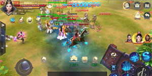 Chiến Thần Ký Mobile có lẽ là tựa game nhập vai đầu tiên cho người chơi hút máu lại NPH