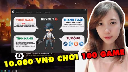 RevoltG – Ứng dụng thuê game bản quyền số 1 Việt Nam