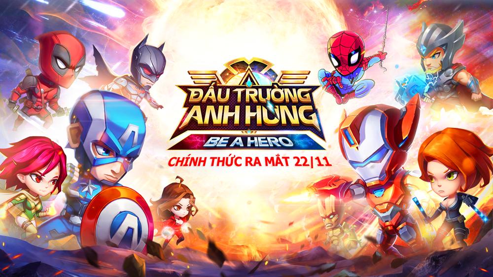 Đấu Trường Anh Hùng Mobile đã cho tải game, sẵn sàng mở cửa vào sáng ngày mai