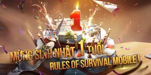 NPH VNG sẽ tổ chức offline mừng sinh nhật 1 tuổi cho Rules Of Survival cuối tuần này