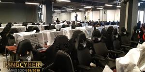 Phòng game KingCyber khủng nhất Hà Nội sẽ chính thức mở cửa vào Chủ Nhật này!