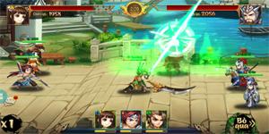 Trải nghiệm Rồng 3Q Mobile: Lối chơi thẻ tướng quen thuộc trên nền đồ họa phong cách chibi hiện đại