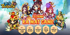 Game đấu tướng Tiểu Tiểu Tam Quốc Chí Mobile công bố ngày ra game theo đúng lộ trình