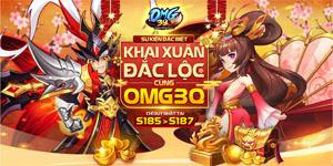 Game mobile OMG 3Q ra mắt máy chủ Tết cho game thủ Khai Xuân Đắc Lộc