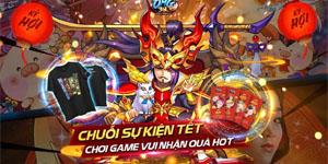 Game thủ OMG 3Q Mobile rộn ràng tham gia sự kiện Tết Nguyên Đán lấy hên đầu năm