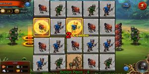 Mighty Puzzle Heroes – Game chiến thuật đấu tướng với cơ chế combo bằng cách xếp hình cực thú vị