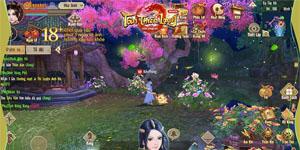 Chơi Tân Thiên Long Mobile VNG bạn cần kết giao với các đại cao thủ để được chỉ điểm võ công