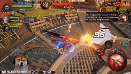 Cận cảnh game hành động Blade of Kingdoms chất lượng đến từ Hàn với ngôn ngữ tiếng Việt