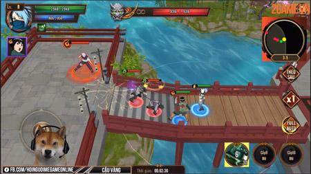 Ninja Vô Song – Game nhập vai hành động lấy chủ đề Naruto quen thuộc cho mobile
