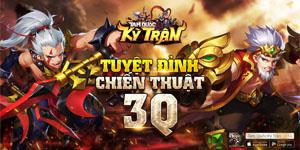 Tam Quốc Kỳ Trận Mobile – Game chiến thuật đấu tướng theo ô định ngày ra mắt tại Việt Nam