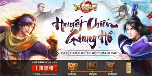 Tân Thiên Long Mobile VNG mở trang chủ cho người chơi vào lưu danh nhận Bảo Vật