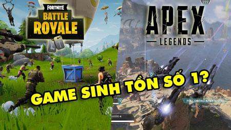 Game bắn súng sinh tồn mới nổi Apex Legends khác biệt như nào so với Fortnite?