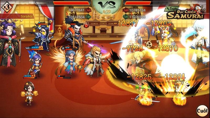 Top 11 game mobile lấy cảm hứng Âm Dương Sư Nhật Bản 9