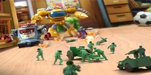 Army Men Strike – Game RTS khá độc đáo với tạo hình nhân vật là những chú lính nhựa