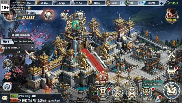 Người ta bảo game chiến thuật đồ họa thường xấu tệ nhưng Tam Quốc Vương Giả lại khác 0