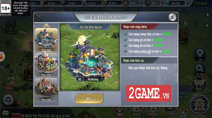 Người ta bảo game chiến thuật đồ họa thường xấu tệ nhưng Tam Quốc Vương Giả lại khác 1