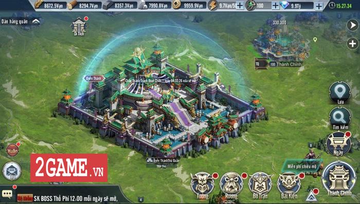 Người ta bảo game chiến thuật đồ họa thường xấu tệ nhưng Tam Quốc Vương Giả lại khác 2