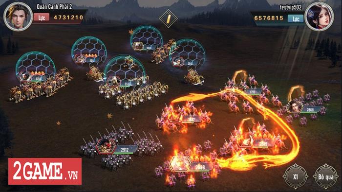 Người ta bảo game chiến thuật đồ họa thường xấu tệ nhưng Tam Quốc Vương Giả lại khác 3