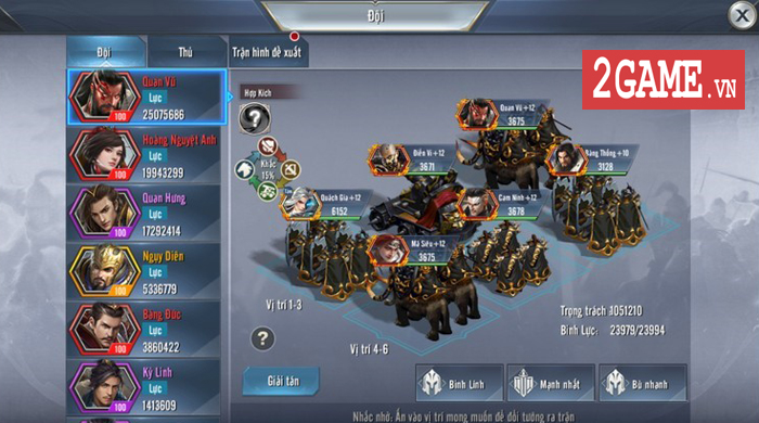 Người ta bảo game chiến thuật đồ họa thường xấu tệ nhưng Tam Quốc Vương Giả lại khác 7