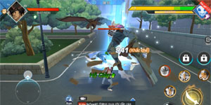 """""""Chém mỏi tay"""" với game hành động BLEACH Mobile 3D bản Việt hóa"""