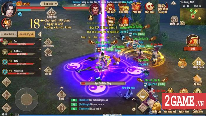 Tân Thiên Long Mobile VNG